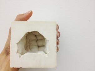 (2012) Plaster. 80 x 80 x 80mm